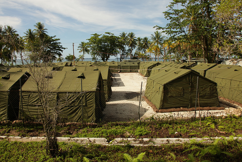 Manus Island Detention Center. Photo Credit: DIAC Images Flickr