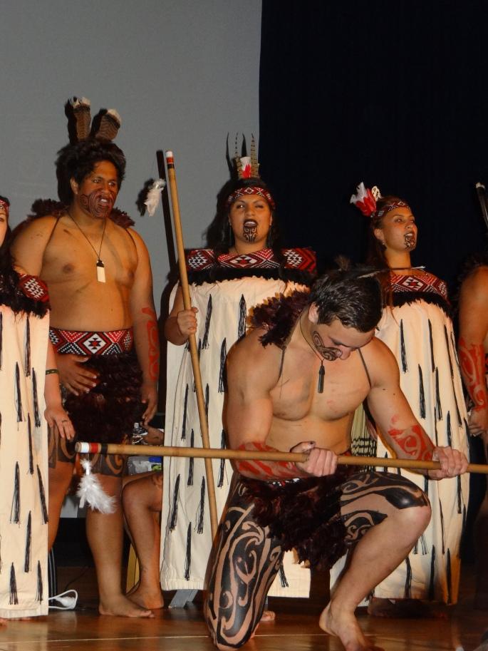 Poutamu Māori Performing Arts Group. Photo Credit: Genevieve Neilson