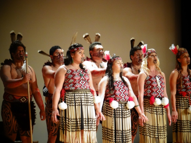Poutamu Māori Performing Arts Group. Photo Credit: Genevieve Neilson