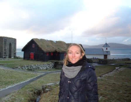 Genevieve Neilson in the Faroe Islands.